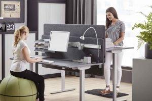 scrivania regolabile in altezza elettrica standing desk in offerta