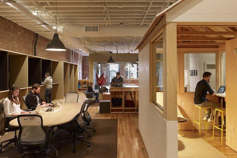 ufficio di Airbnb e Portman